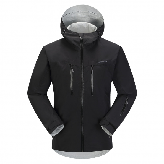 4e3a4e52b Skogstad UK - Kirkestinden 2.5-layer waterproof shell jacket Black