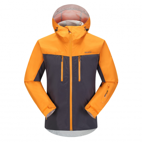 f38ffb586 Skogstad UK - Kirkestinden 2.5-layer waterproof shell jacket Steel